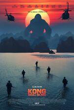 KONG:SKULL ISLAND Fullsize 27x40 Doublesided Teaser Movie Poster