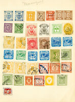 Italy Stamps Early 38x mint/used 1800's Revenue Collection on pg