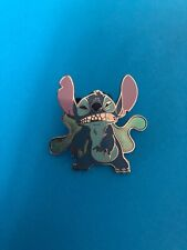 Disney Park Pin (2009) Lilo & Stitch Stitch Growling *sold Out* Red Lanyard Pin