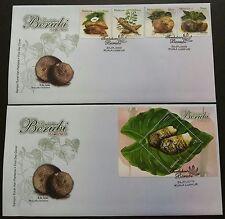 2009 Malaysia Tuber Plants 4v Stamps & Mini-Sheet on 2 FDC (Kuala Lumpur Cachet)