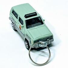 Matchbox Park Patrol Green Jeep Cherokee 1:64 Diecast Keychain Gift GMM12-4810