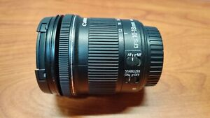 B GRADE Canon EF-S 10-18mm F/4.5-5.6 IS STM Lens Auto/Manual Focus - Stabilizer