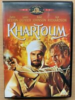 Khartoum DVD 1966 Epic 1883 Sudan Desert War Action Classic w/ Charlton Heston