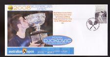 NOVAK DJOKOVIC 2008 AUSTRALIAN OPEN WIN TENNIS COVER 3