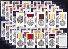 More details for john player decorations and medals (unissued) 1940 set of 50 *vg/exc condition*