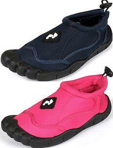 FEET - KIDS CHILDS Aqua Wet Shoes wetshoes beach Childrens - junior 5 - 7 adult