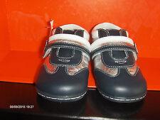 BOUMY Baby Schuhe Echt Leder mit Klettverschluss Gr 20 UK 4 NEU UVP 49,90 EUR
