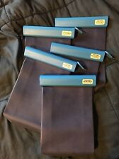 Five (5) Reusable Lunch Bag In Navy Blue Lighter Shade Blue Top