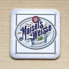 SOTTOBICCHIERE - BIRRA MAISEL'S WEISS - THE UNDER GLASS OF BEER - AS NEW