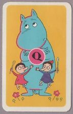 Swap Playing Cards 1 Japanese 60's Moomins 'TV Series' Anime 3/4 Size A28