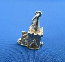 VINTAGE 925 STERLING SILVER CHARM CHURCH HOUSE OF GOD OPENS NUVO 2.8 g