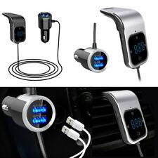 KFZ Bluetooth FM Transmitter Car MP3 Player Auto USB Charger Freisprechanlage