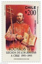 Chile 1992 #1599 400 años Llegada de los Jesuitas a Chile MNH