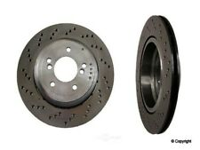 Disc Brake Rotor Rear Left WD Express 405 06124 001