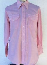 Men's Western shirt by 'R.M Williams' Long Horn, size XL