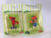 New Sesame Street Collectible Ernie and Elmo Figurine by Fisher-Price  #505
