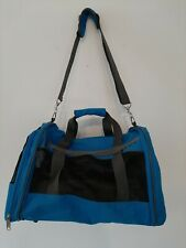 Pet Carrier Soft Sided Travel Bag with Hand & Shoulder Strap Small Dog/Cat
