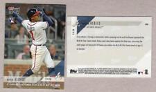 2018 Topps NOW #446 - OZZIE ALBIES - 6th Age 21 w 20 HR at AS Break - 702 Made