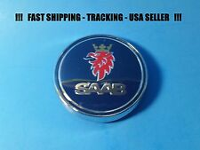 NEW Saab 9-3 Rear Trunk Emblem Badge Bonnet Symbol Logo 1278587 68mm 03 - 08 USA