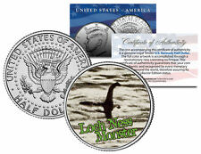 LOCH NESS MONSTER  Surgeon's Photo Scotland JFK Kennedy Half Dollar US Coin
