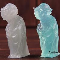 Star Wars Yoda Toys Jedi Master Mini Luminous Yoda Action Figure PVC Collectible