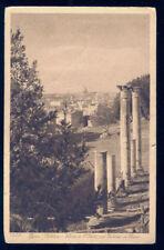 ROMA - PALATINO, VEDUTA DI SAN PIETRO DAL PALAZZO DI FLAVIO - V1925