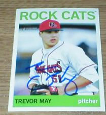 Twins Trevor May RC Autographed Card