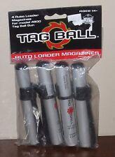Tag Ball | *NEW* x4 Auto Loader Magazines MODEL 4800 Powerband Gun