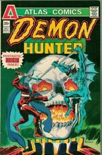 Demon Hunter #1 Atlas Comics 1975 Origin Issue