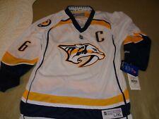 Nashville Predators NHL Jersey Youth Size L/XL #6 Shea Weber NWT