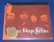Never Too Late Three Days Grace~NEW~Ringle CD Single & Ringtone~FAST SHIPPING!!!
