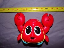 Little Tikes Ocean Explorers CATCH ME CRABBIE Red Crab Baby Crawl Toy