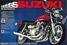 Suzuki GS750 GS750A restauración Decal Set 1976 Naranja Modelo