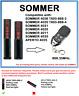 Sommer 4026 TX03-868-2, 4020 TX03-868-4 Kompatibel Fernbedienung 868.35MHz.