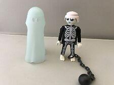 Playmobil Esqueleto Fantasma Figura con Bola y cadena