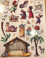 Christmas Nativity Window Clings The Three Wise Men Stickers Nativity Stickers
