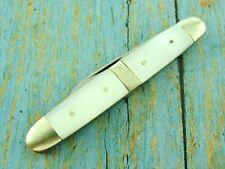 VINTAGE PREMIER GERMANY K243 MOP PEARL CIGAR BAND FOLDING POCKET KNIFE KNIVES