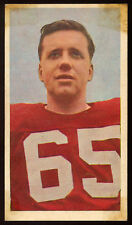 1954 CFL BLUE RIBBON TEA #75 BRUCE COULTER VG-EX MONTREAL ALOUETTES McGill UNIV