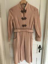 Vtg Eleanor Brenner Couture Peach Dress, Grace's Nashville (sn419)