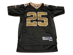 New Orleans Saints Reggie Bush #25 stitched Reebok Jersey Youth M