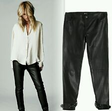 NEW $898 Elin Kling for Marciano - Linn 100% Leather Pant size 4