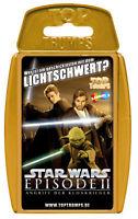 Top Trumps - Star Wars Episode II 2 - Spiel Quartett Quartettspiel Kartenspiel