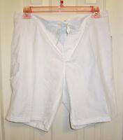 NWT-Kanu-Surf-Women's-Breeze-Boardshort-Style #8101-White-Size-14-Polyester Kanu