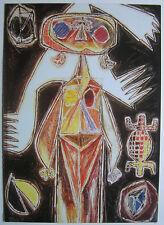 OSWALDO VIGAS  - Carton d invitation - 1993
