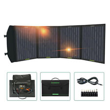 120W Solar Ladegerät Faltbares Solarpanel mit 20A LCD-Controller with USB