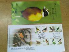 MALAYSIA 2005 BIRDS DEFINITIVE 8v FDC cover rare item ipoh perak