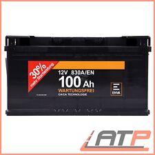 ENVA 100Ah 830A 12V AUTOBATTERIE STARTERBATTERIE PKW-BATTERIE 32124134