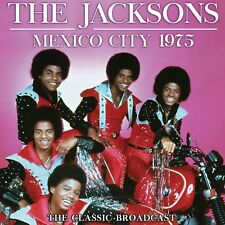 THE JACKSONS w MICHAEL JACKSON New 2018 UNRELEASED LIVE 1975 MEXICO CONCERT CD