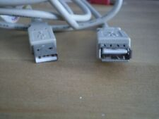 2 METRE USB MALE TO FEMALE EXTENSION CABLE -GREY