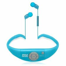 New Pyle PSWBT7BL Active Sport Waterproof Bluetooth Headphones + Call Answering